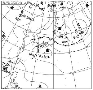 天気図 11072821