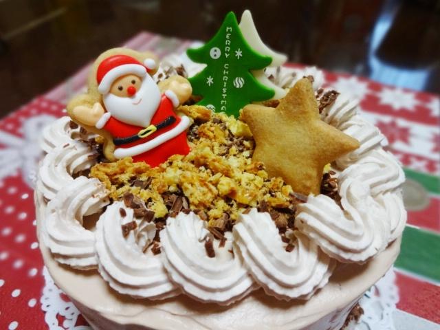 クリスマスチョコケーキ_20131214