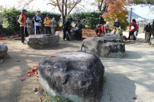 本薬師寺跡礎石