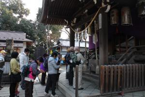 福知山一宮神社参拝