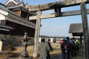 福知山城朝暉神社
