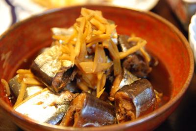 秋刀魚甘辛煮