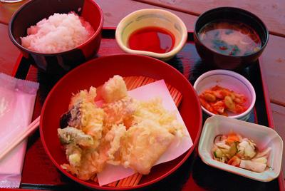 太刀魚天ぷら定食