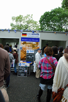 ドイツの屋台