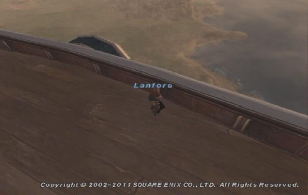 飛空艇でジュノ