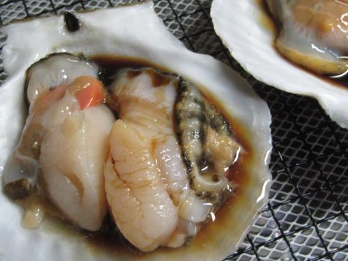 ホタテ焼き (1)