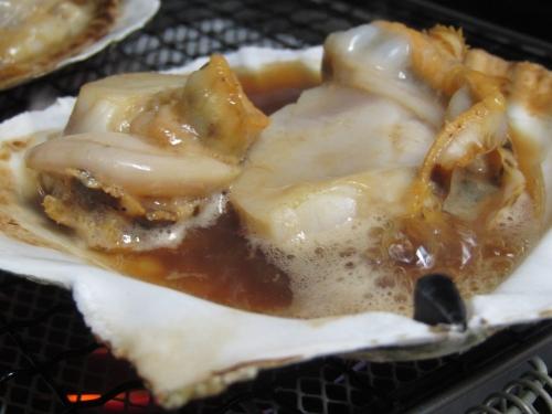 ホタテ焼き (3)