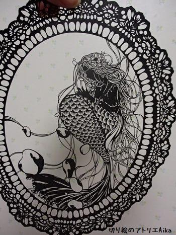 レース人魚姫⑨