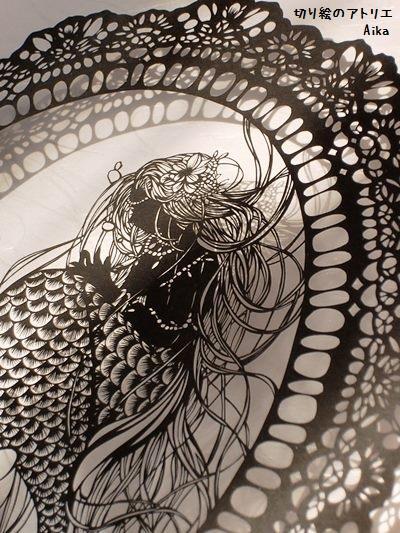 レース人魚姫⑫