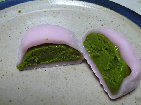 さくら抹茶大福4