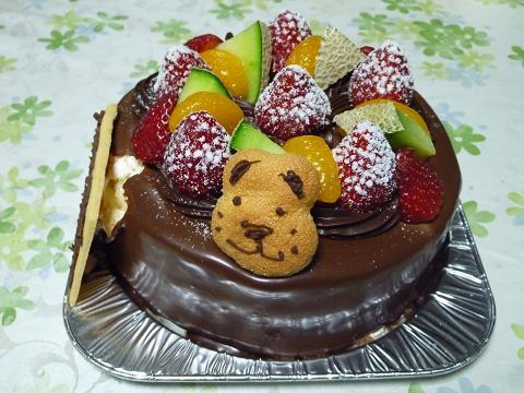 誕生ケーキ110331