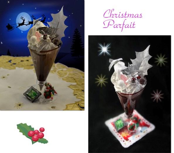 01クリスマスパフェ