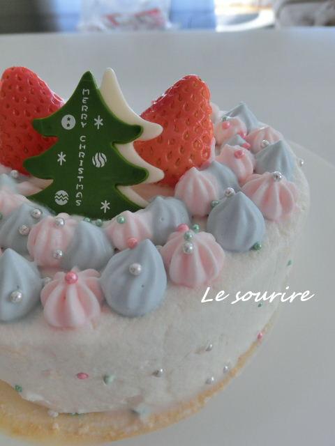 わたしのクリスマスケーキ