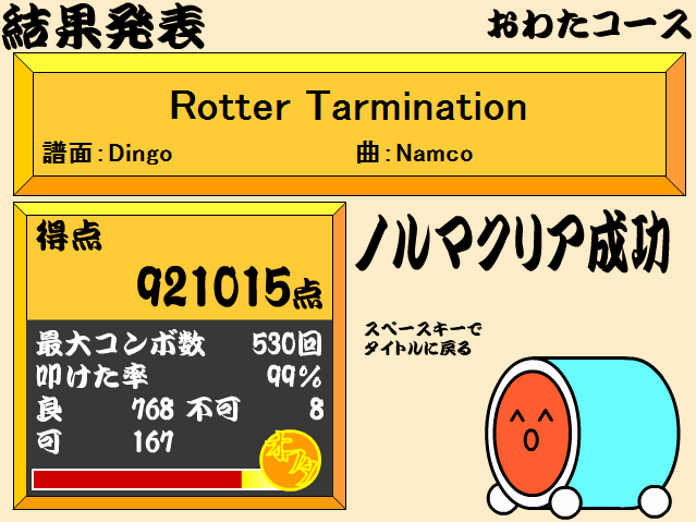 Rotter Tarmination(裏)-2