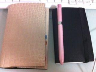 手帳とエトランジェディコスタリカ