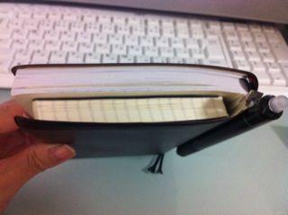 手帳とメモ帳