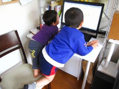 いまどきの子はPCでYouTube見る。