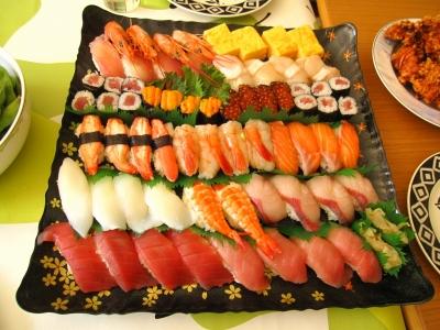 銚子丸のお寿司だよー。