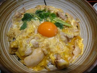 奥久慈卵の親子丼