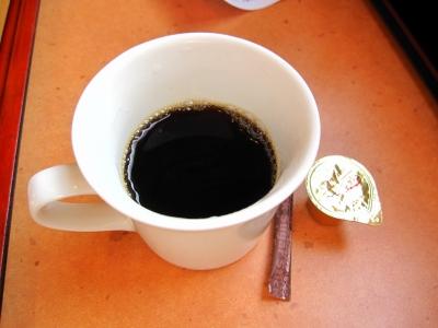 なんとコーヒー1杯、サービス!