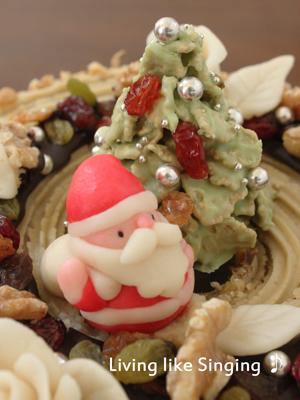 クリスマスケーキ2013②