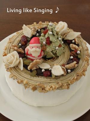 クリスマスケーキ2013①