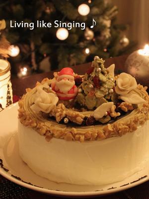 クリスマスケーキ2013③