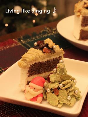 クリスマスケーキ2013④