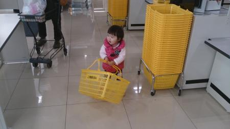 一歳八ヶ月の結子