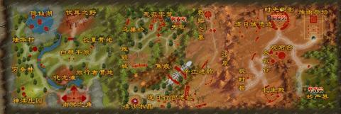 蓬莱エリアマップ