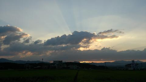 2012_9夕焼け2