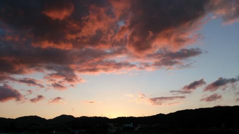 2012_9夕焼け1