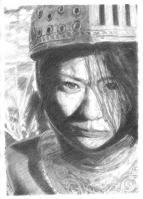 椎名林檎鉛筆模写3
