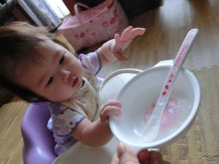 初離乳食1