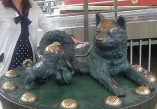 水天宮の子宝犬