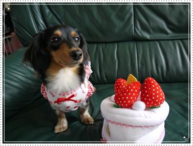 ケーキのおもちゃ