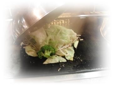 蒸野菜調理
