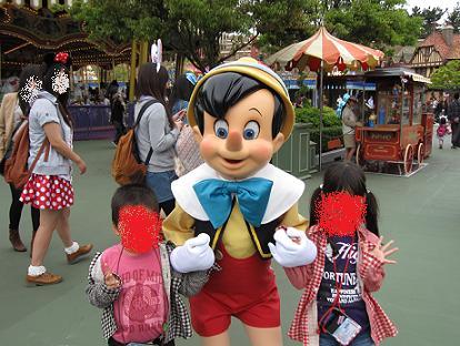 ディズニー(ピノキオ)