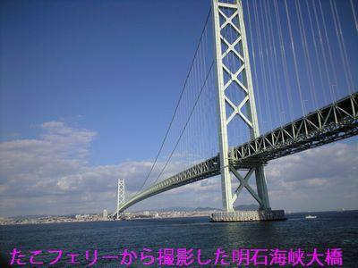 たこフェリー明石海峡大橋