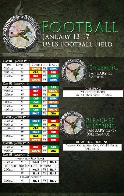 Schedule (3)