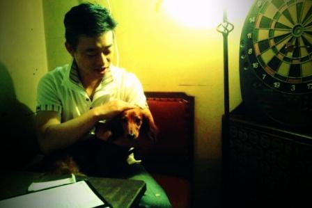 渋谷夜カフェ2