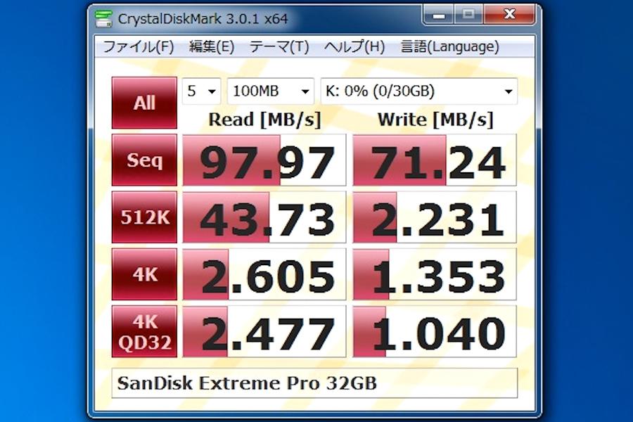 SanDisk ExPro 32gb