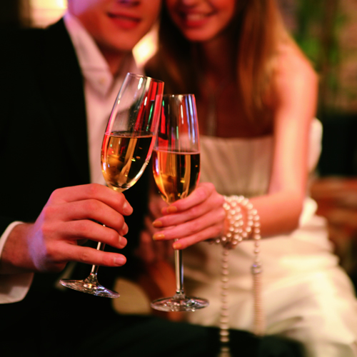 オーシャンビュー&シャンパン外