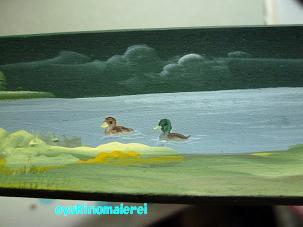 靴べら池の鴨2011.8.2