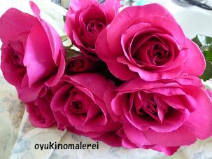 市場のバラ2011.8.23