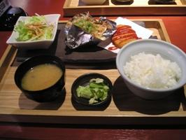 日替わりランチ(豚肉生姜姿焼き)