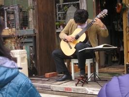 長縄広紀さんのクラッシックギターライブ1