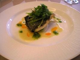 1800円コース お魚料理