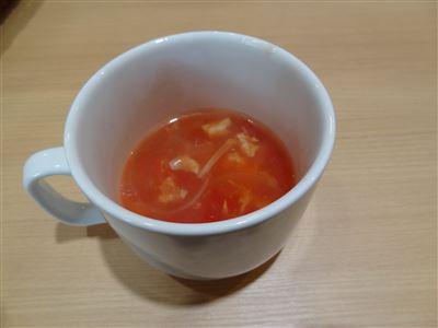 Cセットのスープ