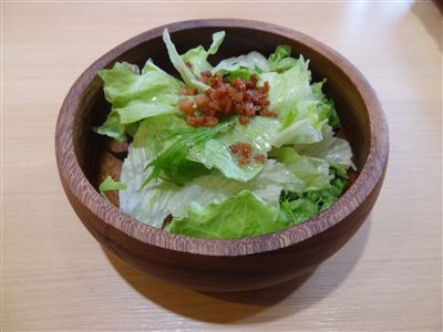 Aセットのサラダ